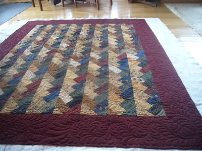 Oh Beautiful Braid Quilt…Quilted