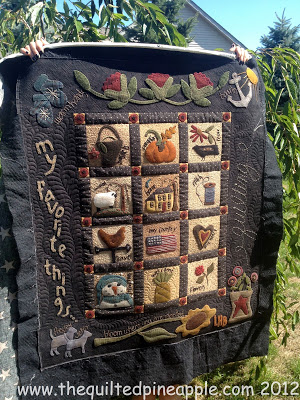 Primitive Gatherings Summer Freebie – Quilted