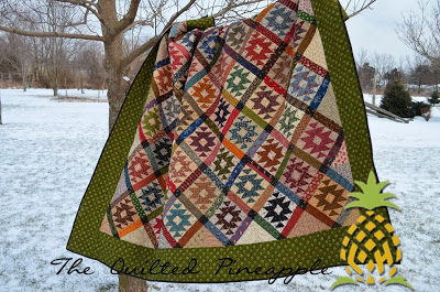 Rocky Mountain Puzzle Quilted